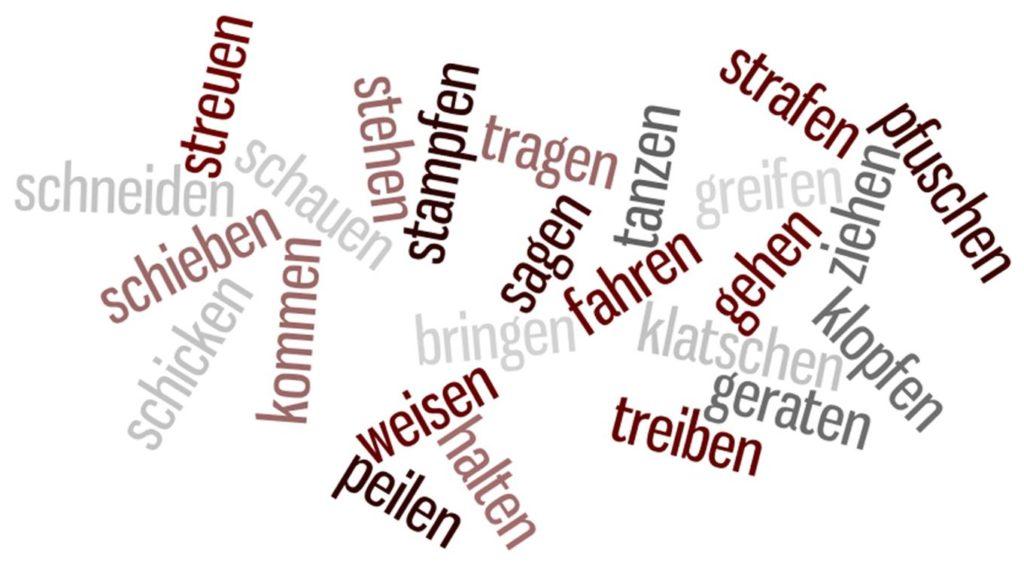 Động từ trong tiếng Đức